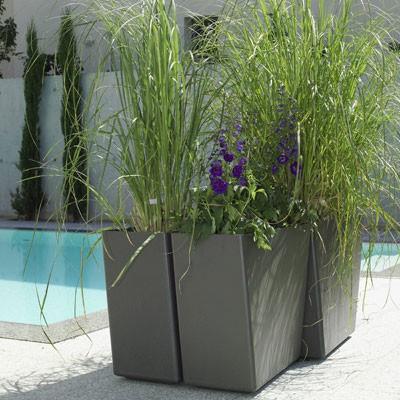 Jardinière Twista Piscine Eternit JardinChic