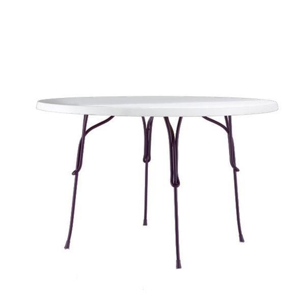 Table Vigna Ronde Ambiance Neige Ø60cm Magis JardinChic