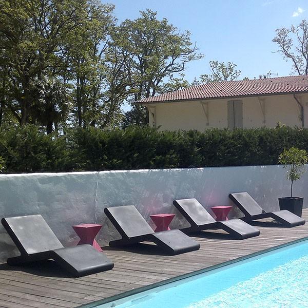 Bain de soleil wok jardinchic - Bain de soleil piscine ...