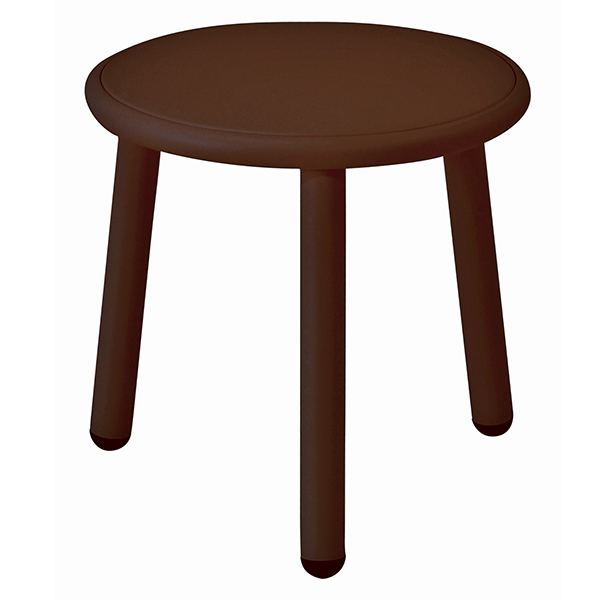 table basse plateau aluminium yard jardinchic. Black Bedroom Furniture Sets. Home Design Ideas