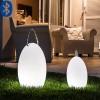 Lampes Amande Corde H28cm et H39,5cm Smart and Green Jardinchic - Copyright Christophe Levet