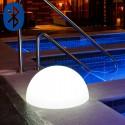 Boule Lumineuse Demi Bluetooth®