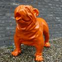 Statue Bulldog Anglais Laqué