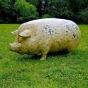 Statue Cochon Tâcheté