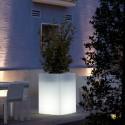Jardinière Lumineuse Cubo Alto