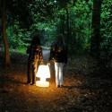 Lampe Portable avec Batterie Rechargeable H56cm