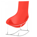 Rocking Chair Tom Yam Piétement Blanc