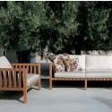 Salon De Jardin Mistral (Canapé 2 places+ Fauteuil)