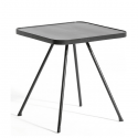 Table Basse Attol Aluminium Carrée