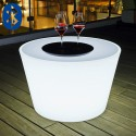 Table Basse Lumineuse Bass Bluetooth®