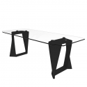 Table Iso Plateau Verre