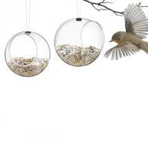 Set de 2 Mini Bird Feeders