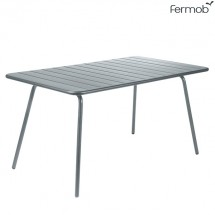 Table Luxembourg 143x80cm Gris Orage