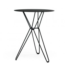 Table de café ronde Tio Black MassProductions Jardinchic