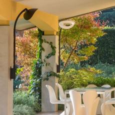 Appliques Murales Chauffantes Hotdoor Modèle Moyen Noir Phormalab JardinChic