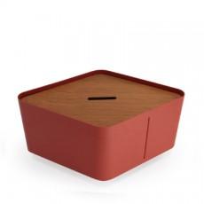 Bac Hive Large Ambre avec Couvercle Hive Teck vendu séparément - Ego Paris Jardinchic