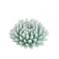 Bougie Fleur Dahlia Vert 12,5cm Decoragloba Jardinchic