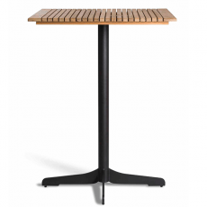 Table de Bar Ceru Noir/Teck Oasiq Jardinchic