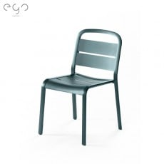 Chaise de Repas Marumi Noir Vert / Noir Vert EGO Paris Jardinchic