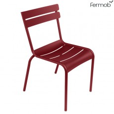 Chaise Luxembourg Piment Fermob Jardinchic