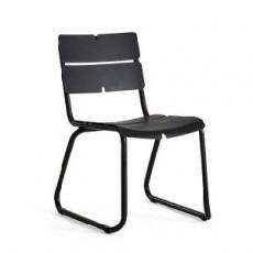 Chaise de Repas Corail Anthracite Oasiq Jardinchic