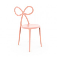 Chaise Ribbon Pink Qeeboo Jardinchic