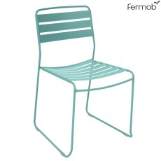 Chaise Surprising Bleu Lagune Fermob Jardinchic