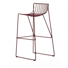 Tabouret de bar Tio Whine Red MassProductions Jardinchic