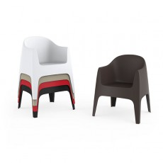 Chaises Avec Accoudoirs Solid Vondom Jardinchic