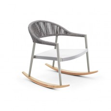 Rocking chair Clever Perle Varaschin Jardinchic