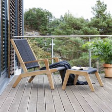 Deck Chair et Repose-pied Skagen Oasiq Jardinchic