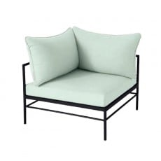 Fauteuil d'Angle Rivage Basalte Vlaemynck Jardinchic