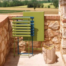 Table Pliable Arc-en-Ciel  Vert Emu JardinChic