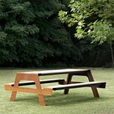 Ensemble Table & Banc Pic-Nic DeCastelli JardinChic