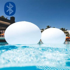 Boule Lumineuse FlatBall Bluetooth® Smart And Green Jardinchic