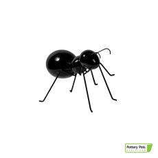 Fourmi Déco Ant Standing XS Glossy Black Pottery Pots Jardinchic