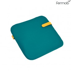 Galette Color Mix 41x38cm Bleu Goa Fermob Jardinchic