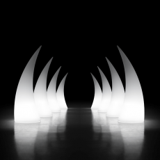 Sculpture Lumineuse Horn Plust Jardinchic
