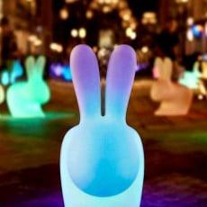 Lampes à batterie Rabbit Lamp Qeeboo Jardinchic