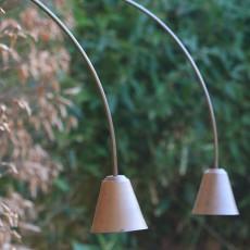 Lampes à Planter Carnoustie Arco Browntechn Inverlight Jardinchic