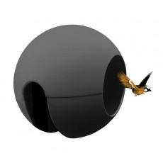 Mangeoire de Balcon Ballcony Birdball Gris Anthracite Rephorm Jardinchic