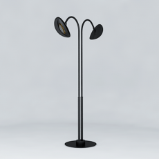 Lampadaire Chauffant Modèle Noir Long Phormalab JardinChic