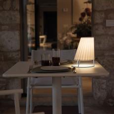 Petite Lampe Cone Blanc Mat/Dress Code Imprimé Emu Jardinchic