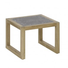Petite Table Basse Kontiki Plateau En Pierre De Lave Emu JardinChic