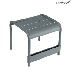 Petite Table Basse / Repose-Pieds Luxembourg Gris Orage Fermob Jardinchic