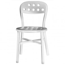 Chaises empilables Pipe Chair Tables Rondes Magis JardinChic