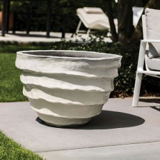 Pot Baja White Domani Jardinchic