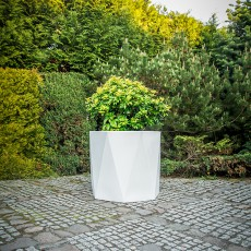 Pot Ceres 70 Blanc Pdconcept Jardinchic