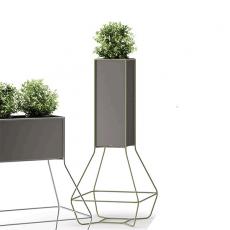 Pot Halful 25 Structure Vert Pâle Verni Plust Jardinchic