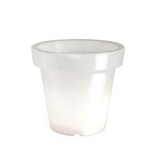 Pot Lumineux Bloom 40 Blanc Bloom! JardinChic
